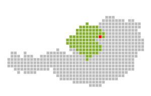 Österreich - Oberösterreich - Saxen Karte Standort
